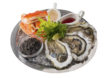 Caviar and seafood