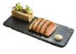 Sashimi of salmon