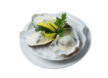 Oysters in Normandy sauce